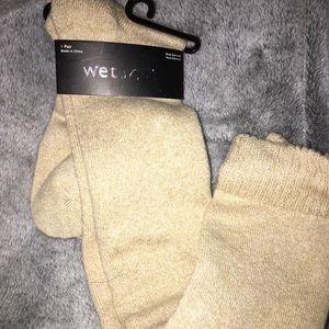 Wet seal knee high socks